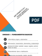 Informatica I Und 1 2014