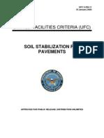 UFC 3-250-11 Soil Stabilization for Pavements (01!16!2004)