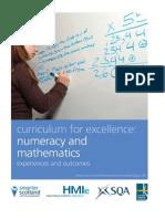Numeracy and Mathematics