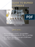 pH as a Guide to Buried Sulphides