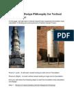 Foundation Design Philosophy for Vertical Vessel