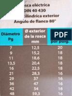 ROSCA ELÉCTRICA 80º