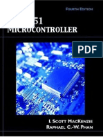 The 8051 Microcontroller by I. Scott Mackenzie (4th Edition)