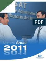Memoria Institucional 2011