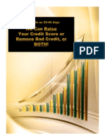 What the Credit Bureaus Don't Want You To Know