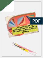 SITUACIÓN DE LA UNIVERSIDAD PÚBLICA (III)
