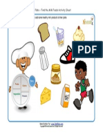 Kids My Plate Worksheets Dairy Group