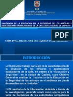 EDUCACIÓN Y SEGURIDAD1