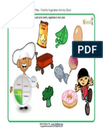 Kids My Plate Worksheets Vegetables Group