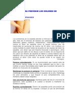 CONSEJOS PARA PREVENIR LOS DOLORES DE ESPALDA.doc