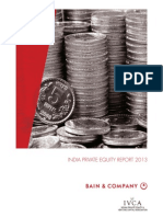 Bain & Co- India Private Equity Report 2013