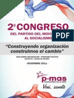 Cartilla 2do Congreso 2011