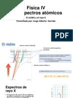 Los espectros atómicos