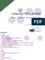 Curso básico de PHP 6/6