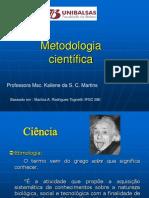 METODOLOGIA CIENTÍFICA Kaliene