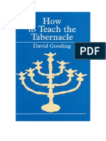 How to Teach the Tabernacle by David Gooding