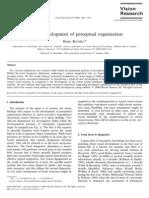 Human Developm Perceptual Organization