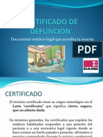 Certificado de Defuncion Final