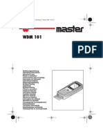 Manual de Uso Wincha Electronica Wurth Extendido
