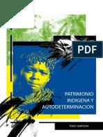 0356 Patrimonio Indigena y Autodeterminacion