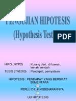 pembuatan hipotesis