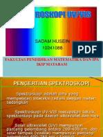 Spektroskopi UV.vis ppt