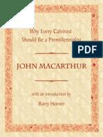Macarthur on Future Israel