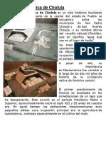 Zona arqueológica de Cholula (1)