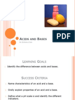 acids and bases