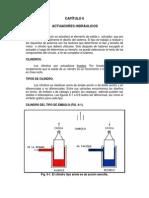 CHYN CAPÍTULO 6 Actuadores Hidráulicos