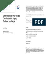 Understanding OVOP Book-2011