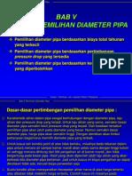 Optimasi Pemilihan Diameter Pipa