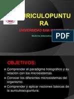 Auriculoterapia i Usmp 2014
