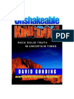 An Unshakeable Kingdom by David Gooding