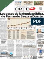 Periódico Norte de Ciudad Juárez edición impresa del 16 marzo del 2014