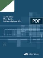manual AR750S