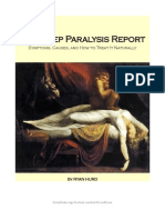 Sleep Paralysis Report 2010