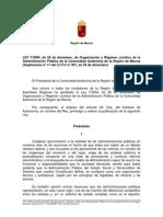 Ley 7-2004 Regimen Juridico