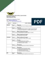Rancangan Pelajaran Tahunan Sains f32013