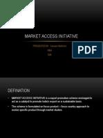 Market Access Initiative