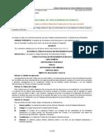Codigo Nacional de Procedimientos Penales - 05-Mzo-2014
