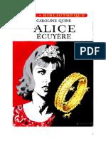 Caroline Quine Alice Roy 31 IB Alice écuyère 1953
