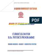 M_G_University CBCSS B_Sc_Physics Syllabus 2011Admission Onwards