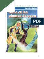 Caroline Quine Alice Roy 34 BV Alice Et Les Plumes de Paon 1956