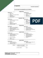 Plan de Estudios Ing Electronic A