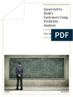 Ananto Case Synopsis Smart-Sell Advance Analytics