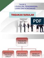 TINDAKAN SUSULAN PKP 3111