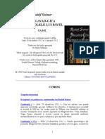 Rudolf Steiner - Bhagavad-gita