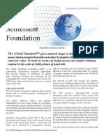 Global Settlement Foundation DGCmagazine