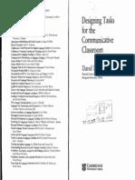 158178293 Carte Nunan Designing Tasks for the Communicativ